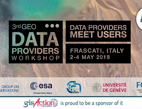 3rd GEO Data Providers Workshop, from 2-4 May 2018