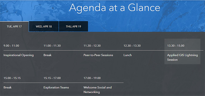 Schedule_conference_gis_sustainable_world_geneva_2018