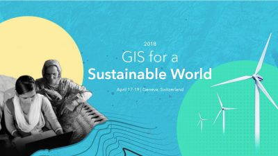GIS for a Sustainable World - esri e gisaction