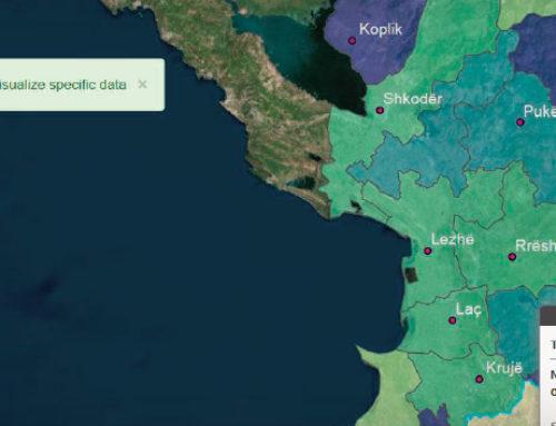 Utilizzo del GIS per il censimento in Albania