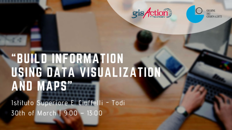 Build information using Data Visualization and Maps