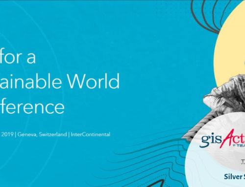 "GisAction partecipa alla Conferenza Esri ""GIS for a Sustainable World"""