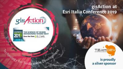 gisaction at esri italia conference 2019